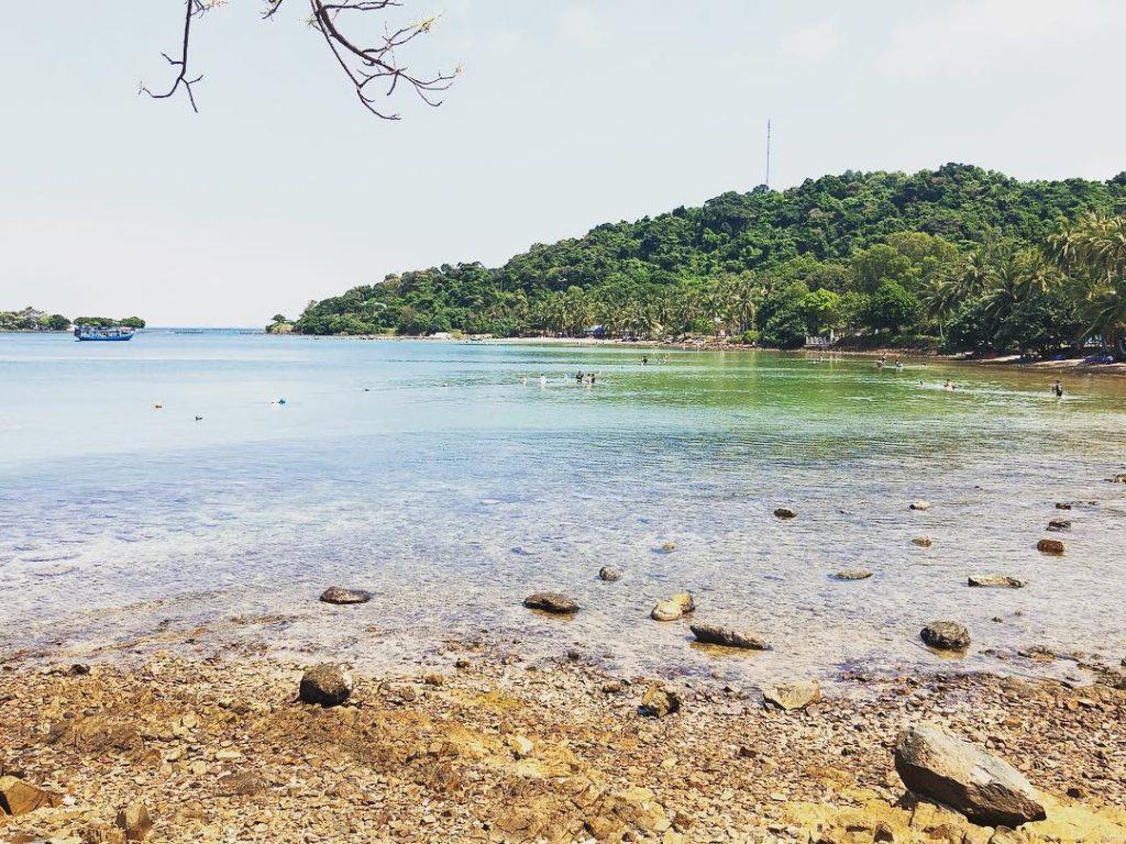 Bãi biển ở Quần đảo hải tặc