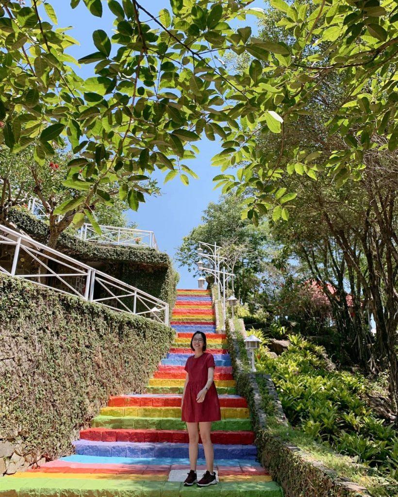 Thung lũng tình yêu ở Thác Giang Điền