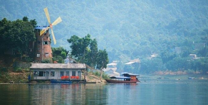Thung Nai có phong cảnh thiên nhiên hoang sơ