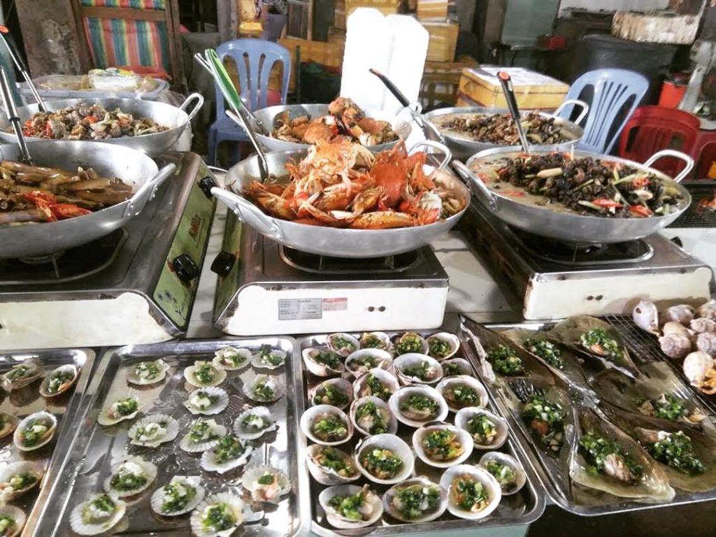 Hải sản chợ Hàng Dương