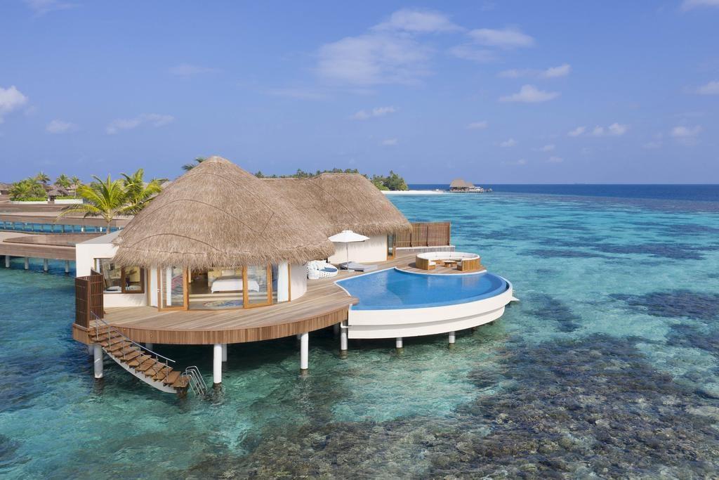 Resort đẹp ở Maldives