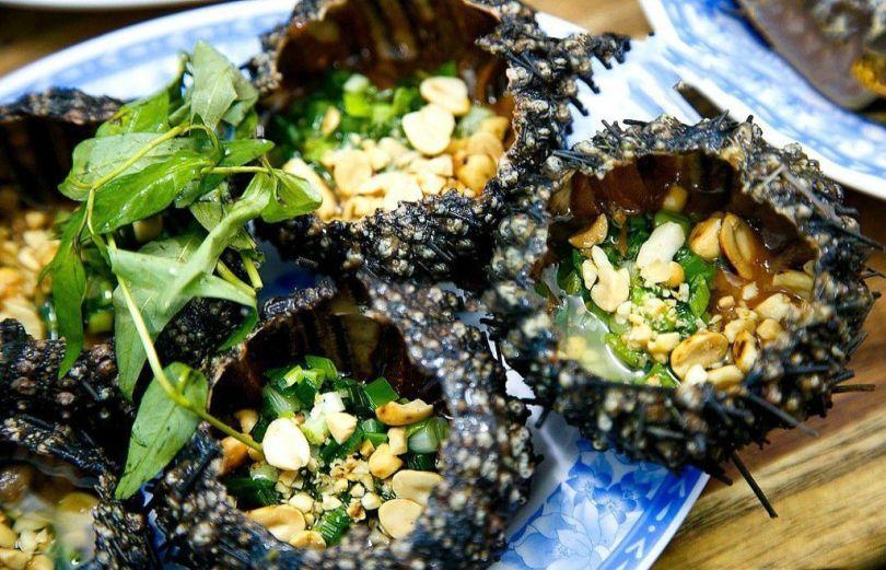 Nhum nướng Phú Quốc