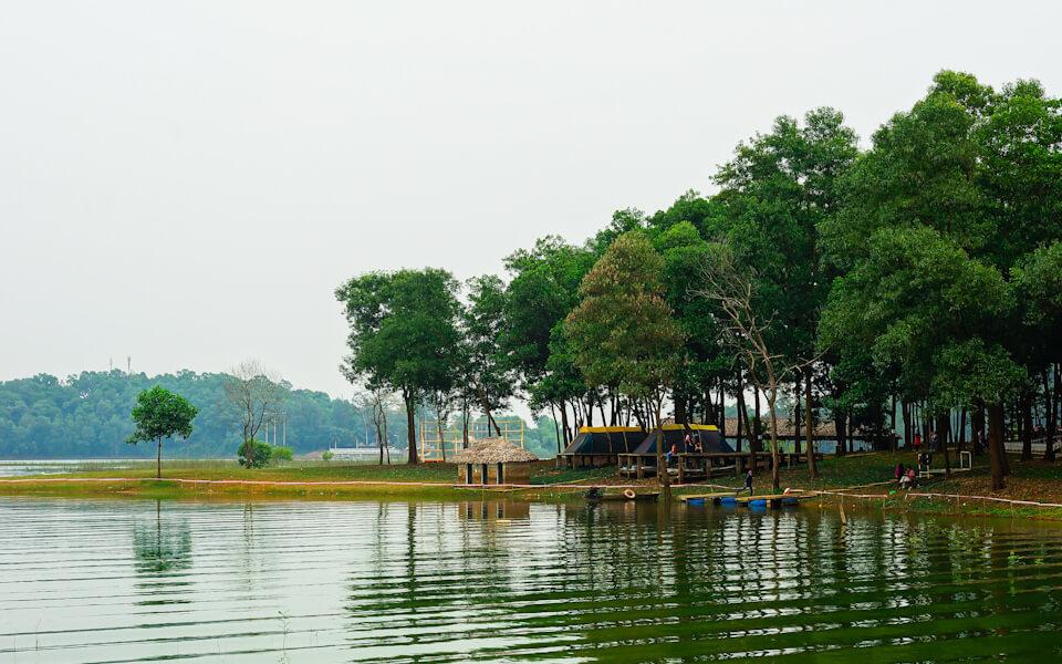 Khu du lịch sinh thái Đồng Mô - ảnh 2