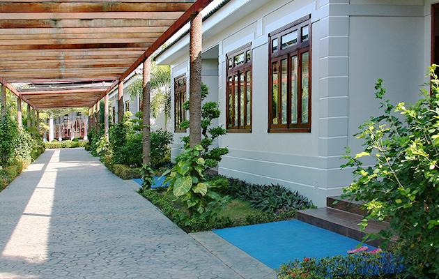 Forever Green Resort có hệ thống khách sạn hiện đại