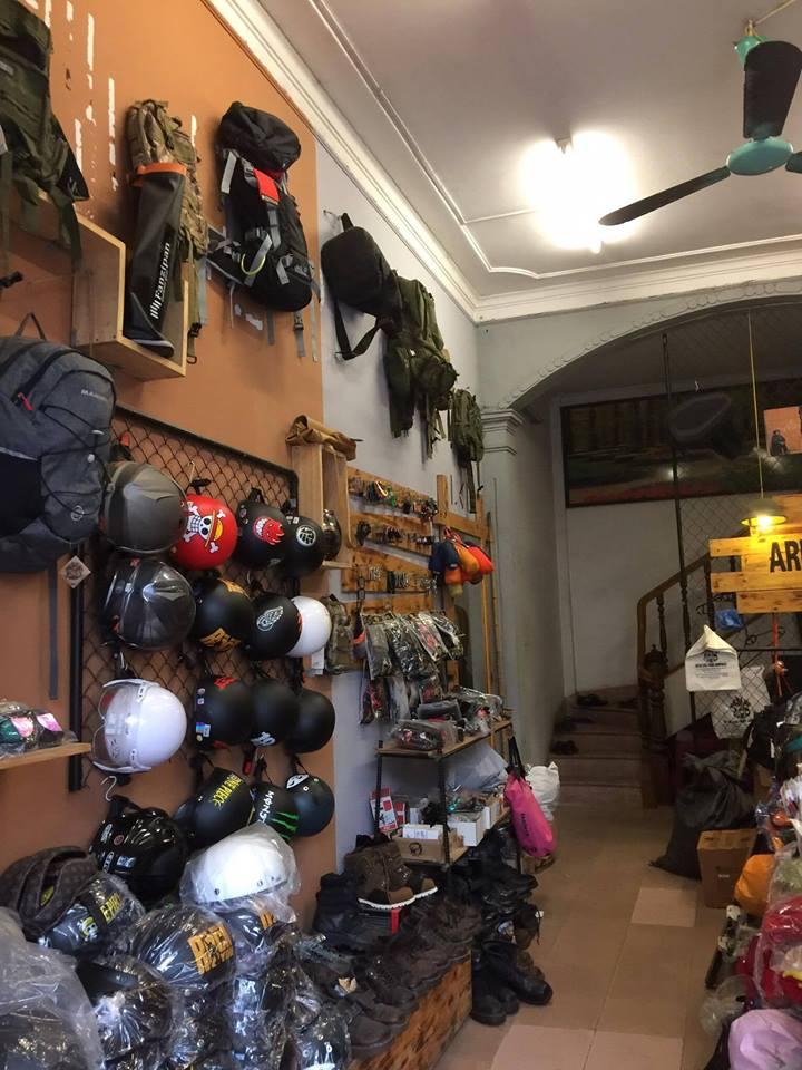 ArmyHaus - Shop bán balo phượt uy tín