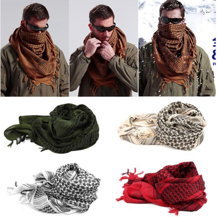 Cách sử dụng khăn rằn Ả Rập
